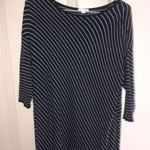 Women's striped long sleeve